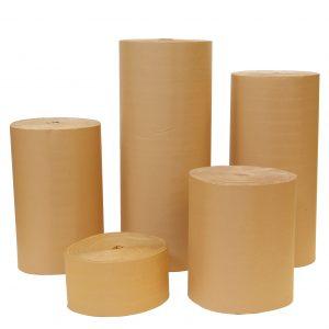 Bobina de cartón ondulado
