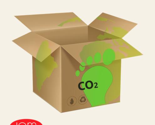 huella de carbono embalaje